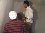 壁塗り体験