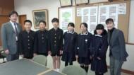 仁尾小学校を訪問